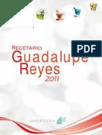 Chef Oropeza - Recetario Guadalupe Reyes 2011