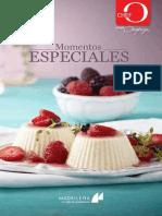 Chef Oropeza - Recetario Momentos Especiales