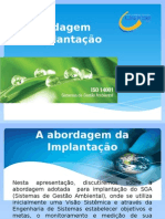 Abordagem de Implantação - ISO 14001