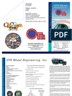OTR Wheel Engineering Military Wheel products brochure