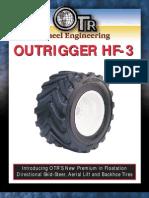 OTR Wheel Engineering HF3 Tire Brochure