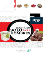 Chef Oropeza - Recetario Solo Para Hombres
