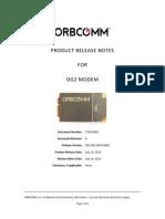 770100001 OG2-GPS FW Release Notes