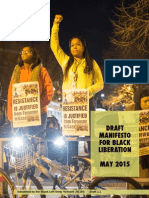Draft Black Liberation Manifesto2.2 May2015
