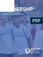 Q12015 Boston 2024 Progress Report