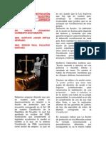 La Acción de Protección en Nuestro Ordenamiento Jurídico Ecuatoriano