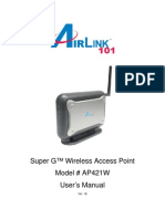 Ap421w Manual