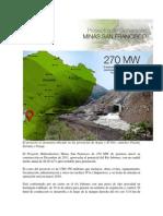 proyecto minas san francisco
