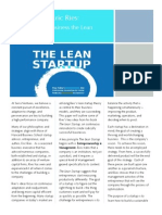 Lean Startup White Paper