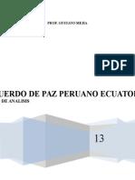 Acuerdo de Paz Peruano Ecuatoriano