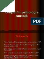 Lectia1 Grupul in Psih Sociala