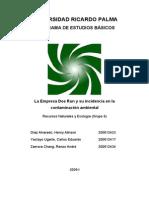 Monografia La Oroya