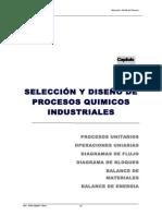 Seleccion y Diseño Del Proceso