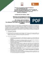 UTD Summer Research Program 2015 - Convocatoria FINAL