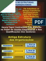 Tipos de Estruturas Organizacionais