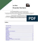 Curriculo Ricardo Romero Febrero 2010