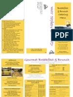 GourmetcateringMenu Breakfast- Brunch PDF