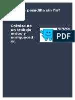 Cronica Tita Pesadilla Sin Fin