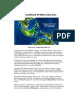 Zaman Prasejarah Sundaland