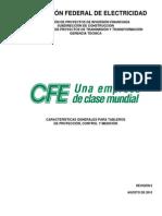 Caracteristicas Generales CFE V6700-62 Rev 6 AGO2010
