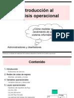 Introducción Al Análisis Operacional