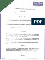 Resolución 106 del 5 de junio de 2015