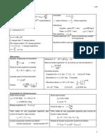 Formulário Termodinamica