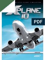X Plane 10 Manual para Desktop em Inglês