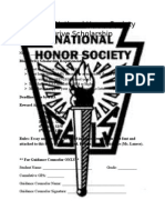 national honor society blood drive scholarship
