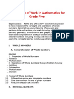 New Budget of Work in Mathematics for Grade Five.docx