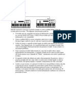 Conexões MIDI