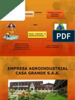 Programa de Adecuacion y Manejo Ambiental Casa Grande