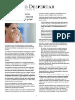 Lo Que La Mayoría de Los Médicos No Le Dirán Acerca de Los Resfriados y La Gripe