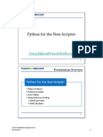 Python for the Non-Scripter