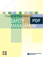 Code of Practice on Safety Management