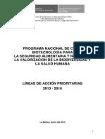 Programa Cti Biotecnologia