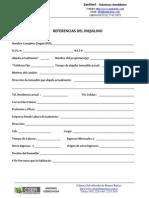 Sanmart - Formulario Referencias Inquilino y Fiador en Construccion)