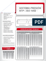 Sistema Presion Ntp-Iso 1452