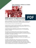 PSDB é um partido neoliberal e defensor do Estado Mínimo.doc