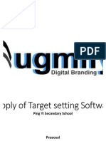 Augmify Proposal Supply of Target Setting Software