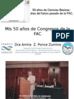 Mis 50 Años de Congresos de La FAC