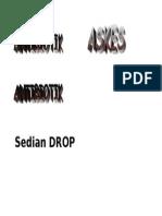 Sedian DROP