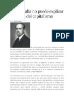 La Plusvalía No Puede Explicar El Origen Del Capitalismo