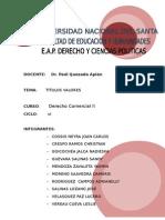 1º Grupo Monografia Titulos Valores Clases