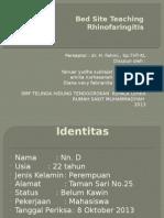 BST 1 - Rhinofaringitis