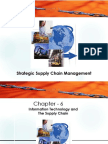Strategic Supply Chain Management - Chapter 6