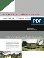 Catálogo Casas Prefabricadas Panel Acero
