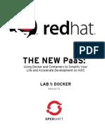 Redhat Openshift Bootcamp Lab 1