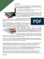 Aplicaciones móviles peruanas