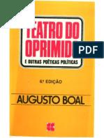 Augusto Boal - Teatro do oprimido e outras poéticas políticas